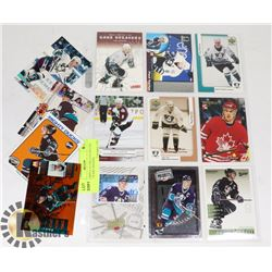 PAUL KARIYA 16 CRD LOT (DUCKS, BLUES, TEAM CANADA)