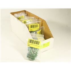 BOX OF 2 POLE 5MM TERMINALS