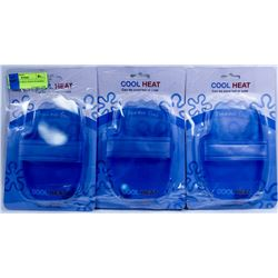 3 NEW  COOL HEAT HAND WARMER / ICE PACK