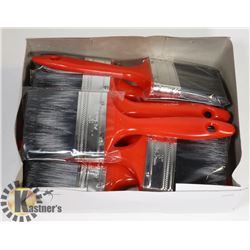 "3"" PAINT BRUSHES. BRAND NEW 10PCS IN BOX"