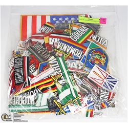 BAG OF ASSORTED WORLD PATCHES