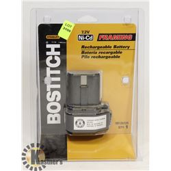 BOSTITCH 7.2V NI CD RECHARGEABLE BATTERY