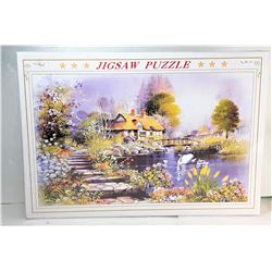 2) FACTORY SEALED 1000 PCE PUZZLE