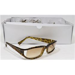 BOX OF LEOPARD PRINT DESIGNER SUNGLASSES