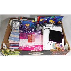 GIFT WRAP AND BAGS PK NEW. 6 PKG OF WRAP