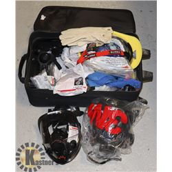 SUITCASE FULL OF SAFETY PPE