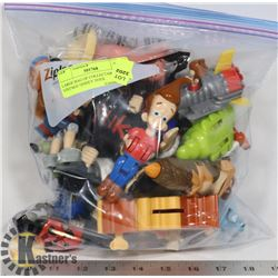 LARGE BAG OF COLLECTABLE VINTAGE DISNEY TOYS