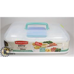 NEW RUBBERMAID ULTIMATE PARTY SERVING KIT