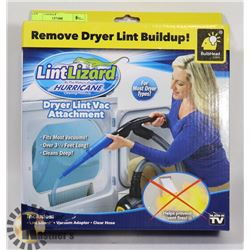 NEW LINT LIZARD DRYER BUILDUP REMOVER