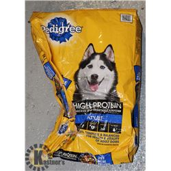 BAG OF PEDIGREE DOG FOOD