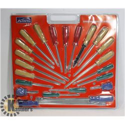 NEW 22PC SCREWDRIVER SET
