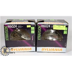 PAIR SYLVANIA HEADLIGHTS