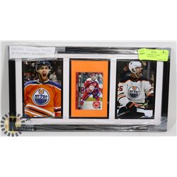 FRAMED DARNELL NURSE AUTOGRAPH DISPLAY