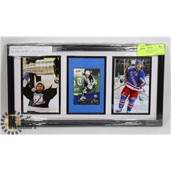 FRAMED MARTIN ST. LOUIS AUTOGRAPH DISPLAY