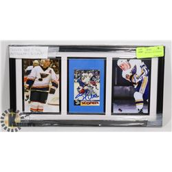FRAMED BRETT HULL AUTOGRAPH DISPLAY