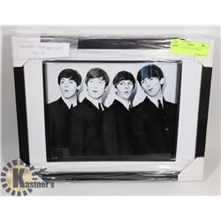 FRAMED THE BEATLES PHOTO