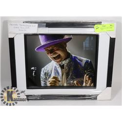 FRAMED TRAGICALLY HIP - GORD DOWNIE PHOTO
