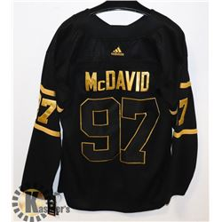 NEW OILERS MCDAVID GOLD EDITION JERSEY XL