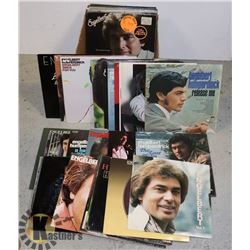 ENGELBERT HUMPERDINCK LPS.   OVER 30