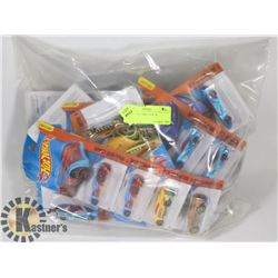 25 DIE CAST CARS. NEW IN PACKAGE.