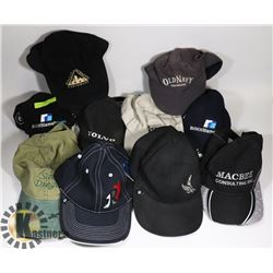 BOX OF 10 ASSORTED HATS