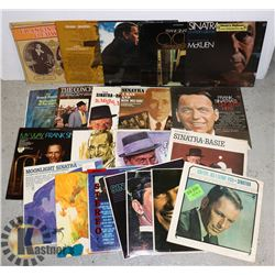 FLAT OF FRANK SINATRA LPS.  ALL ON REPRISE.
