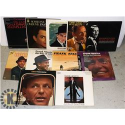 FLAT OF FRANK SINATRA LPS.  MOSTLY ON CAPITOL