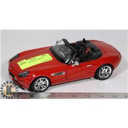 1:24 DIE CAST BMW Z8 MODEL