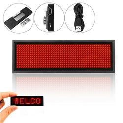MINI LED DIGITAL PROGRAM DISPLAY RED