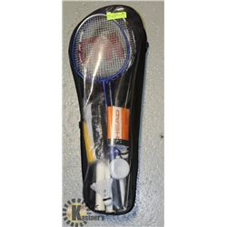 HEAD BADMINTON SET WITH NET AND 5 RACQUETS
