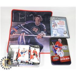 FLAT WITH VINTAGE WAYNE GRETZKY PILLOW CASE,