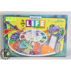 NEW SEALED MONSTERS INC GAME OF LIFE
