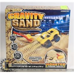 NEW GRAVITY SAND: THE FUN FORCE MOLDING SAND