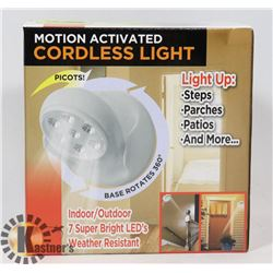 NEW LED MOTION ACTIVATED CORDLESS LIGHT