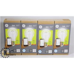 BUNDLE OF 4 NEW GE LINK CONNECTED LED BULBS