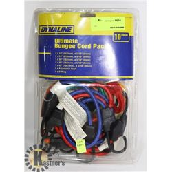 10PC DYNALINE ULTIMATE BUNGEE CORD PACK