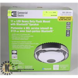 """NEW COMMERCIAL ELECTRIC 11"""" LED HEAVY DUTY FLUSH"""