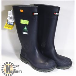 NEW STEEL TOED CSA APPROVED RUBBER BOOTS SIZE 10