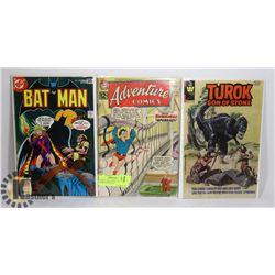 BATMAN #299 TUROK ADVENTURE COMICS #299 ORIGIN
