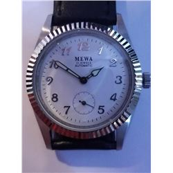 NEW DESIGNER WHITE FACE DIAL AUTOMATIC 21 JEWELS