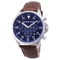 NEW MICHAEL KORS 3-CHRONO 43MM NAVY DIAL MSRP$351