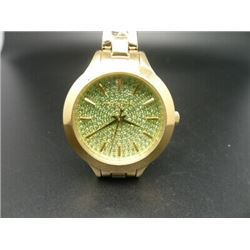 NEW MICHAEL KORS GOLD PLATED WATCH MSRP $329