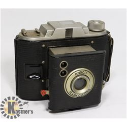 A 1950S ANSCO FLASH CLIPPER CAMERA EXTENDING LENS