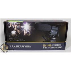 TAKSTAR RECORDING MICROPHONE FOR PHOTOGRAPHY,