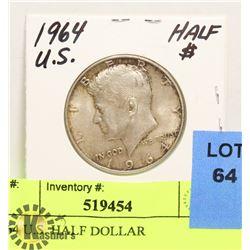 1964 U.S. HALF DOLLAR