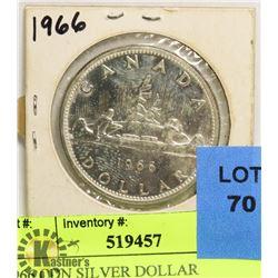 1966 CDN SILVER DOLLAR