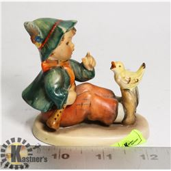 """RARE HUMMEL """"BOY WITH DOUBLE BASS"""" NO CHIPS"""