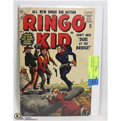 1957 RINGO KID 10 CENT COMIC LAST ISSUE KEY