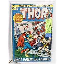 1971 # 193 MIGHTY THOR KEY ISSUE SILVER SURFER