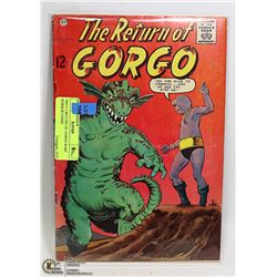 1963 # 2 RETURN OF GORGO RARE HORROR COMIC